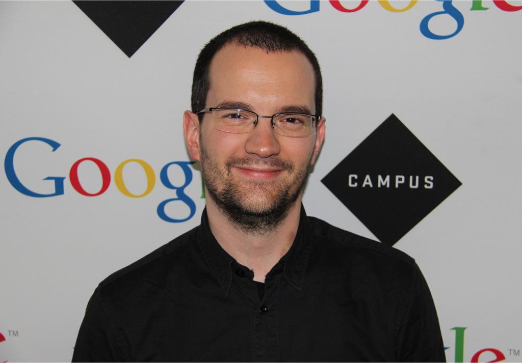 Istvan Bujdoso at Google Campus