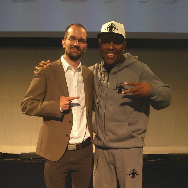 Istvan Bujdoso with Eric Thomas