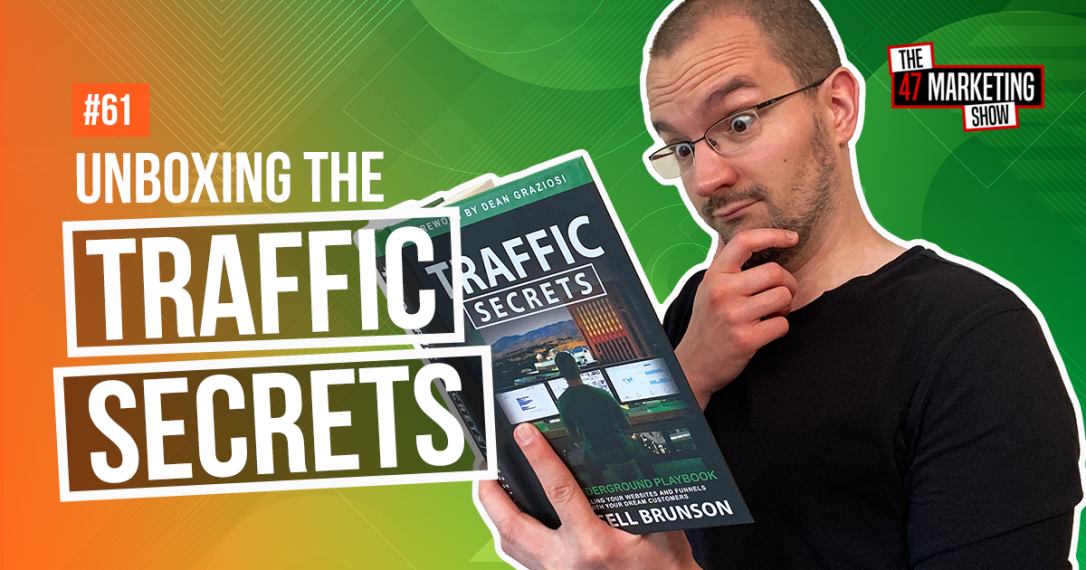 The Secrets Trilogy Unboxing - Part 3 - Traffic Secrets Book